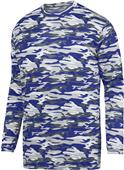 Augusta Mod Camo Long Sleeve Wicking Tee