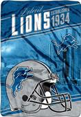 Northwest NFL Lions Stagger Oversized Throw