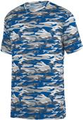 Augusta Adult Youth Mod Camo Wicking Tee