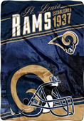 Northwest NFL Rams Stagger Oversized Throw