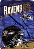 Northwest NFL Ravens Stagger Oversized Throw
