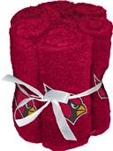Northwest NFL Cardinals Washcloths - 6 pack