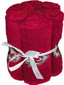 Northwest NFL Chiefs Washcloths - 6 pack