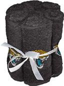 Northwest NFL Jaguars Washcloths - 6 pack