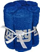 Northwest NFL NY Giants Washcloths - 6 pack