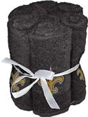 Northwest NFL Saints Washcloths - 6 pack