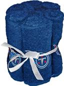 Northwest NFL Titans Washcloths - 6 pack
