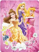Northwest Disney Princesses Fleece Throw
