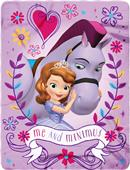 Northwest Disney Sofia The First Fleece Throw