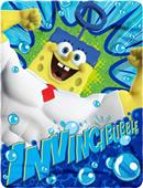 Northwest Nickelodeon SpongeBob Movie Fleece Throw