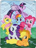 Northwest Hasbro My Little Pony Raschel Throw