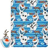 Northwest Big Face Olaf Pillow & Fleece Throw Set