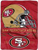 Northwest NFL 49ers Prestige Raschel Throw