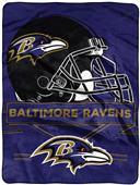 Northwest NFL Ravens Prestige Raschel Throw