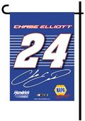 BSI NASCAR Chase Elliott #24 2-Sided Garden Flag