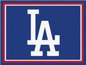 Fan Mats MLB Los Angeles Dodgers 8'x10' Rug