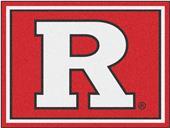 Fan Mats NCAA Rutgers University 8'x10' Rug