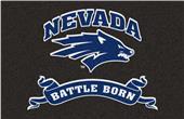 Fan Mats NCAA University of Nevada Starter Mat