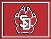 Fan Mats NCAA Univ. of South Dakota 8'x10' Rug