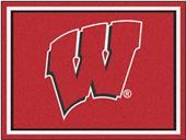 Fan Mats NCAA University of Wisconsin 8'x10' Rug