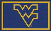 Fan Mats NCAA West Virginia University 4'x6' Rug