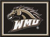 Fan Mats NCAA Western Michigan Univ. 8'x10' Rug