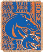Northwest Boise State Double Play Jaquard Throw