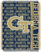 Northwest Georgia Tech Double Play Jaquard Throw