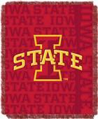 Northwest Iowa State Double Play Jaquard Throw