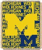 Northwest Michigan Double Play Jaquard Throw