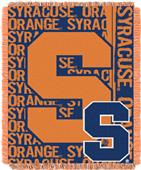 Northwest Syracuse Double Play Jaquard Throw