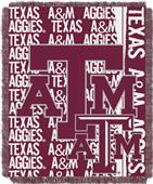 Northwest Texas A&M Double Play Jaquard Throw