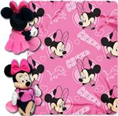 NFL Lions Disney Minnie Hugger & Fleece Throw