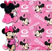 NFL Packers Disney Minnie Hugger & Fleece Throw