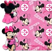 NFL Steelers Disney Minnie Hugger & Fleece Throw