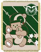 Northwest Colorado St Fullback Baby Jacquard Throw