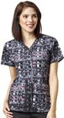 WonderFlex Womens Verity V-Neck Scrub Top