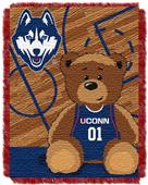 Northwest UCONN Half Court Baby Jacquard Throw