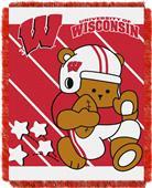 Northwest Wisconsin Fullback Baby Jacquard Throw