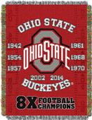 Northwest Ohio State Commemorative Throw