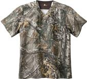 Carhartt Mens V-Neck Realtree Scrub Top