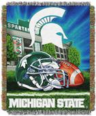 Northwest Michigan State HFA Woven Tapestry Throw