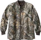 Carhartt Mens Realtree Zip Front Scrub Jacket