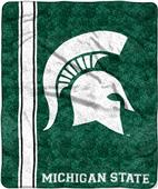 Northwest Michigan State Jersey Sherpa Throw