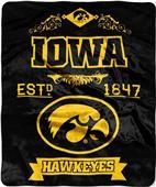Northwest Iowa Label Raschel Throw