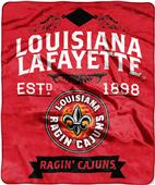 Northwest Louisiana Lafayette Label Raschel Throw