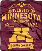 Northwest Minnesota Label Raschel Throw