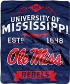 Northwest Mississippi Label Raschel Throw