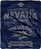 Northwest Nevada Reno Label Raschel Throw