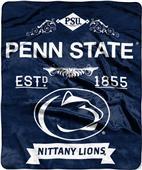 Northwest Penn State Label Raschel Throw